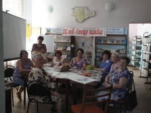Пользователи Урожайновской библиотеки